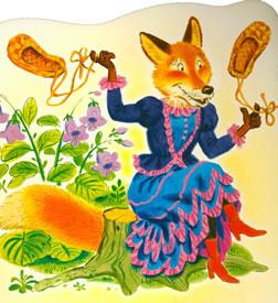 Как лиса-монахиня петуха исповедовала