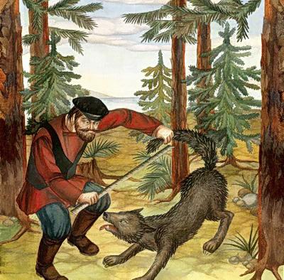Портной и волк